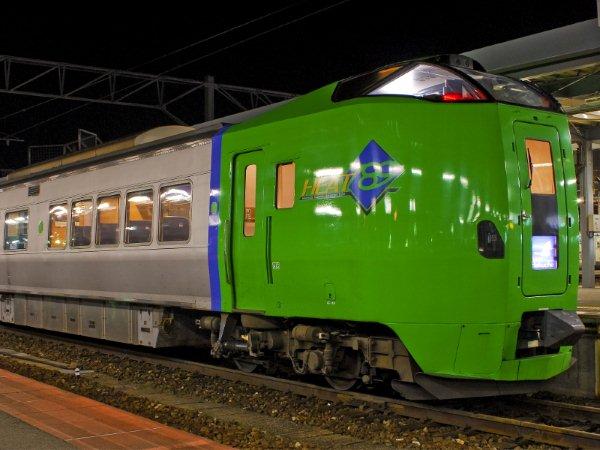 Connect Mainland (Aomori) with Hokkaido (Hakodate). Limited Express Hakucho / Super Hakucho