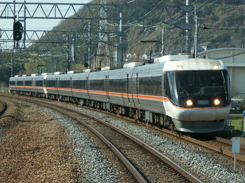 Express train Nagano to/from Nagoya. Limited Express Shinano