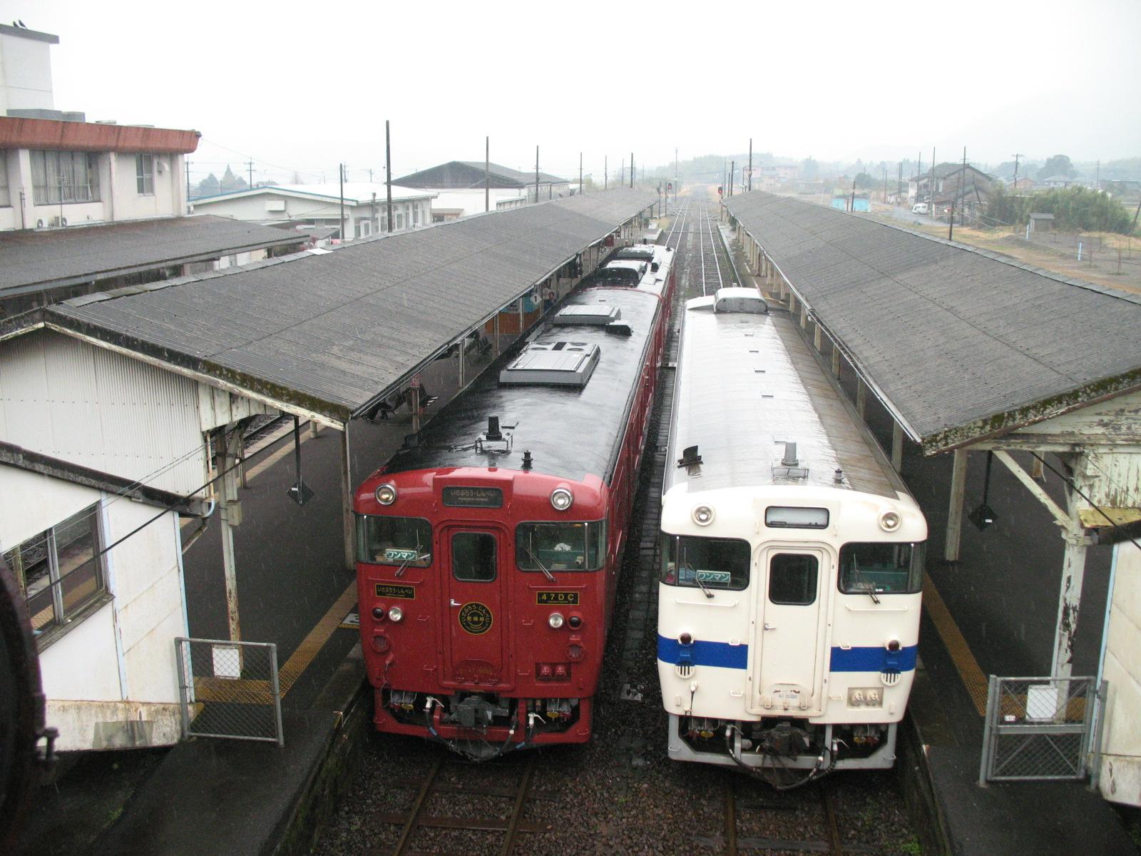 My trip from Kumamoto to Kagoshima-chuo on March 16, 2012 by Kumagawa, Isaburo and Hayato no Kaze