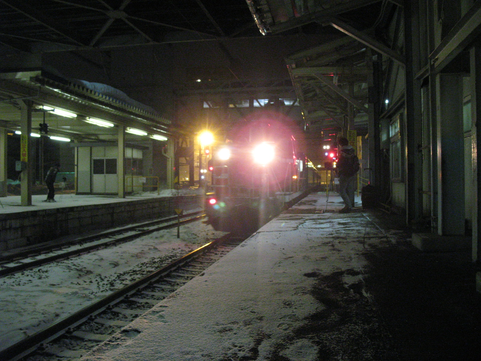 My trip from Aomori to Sapporo on March 19, 2012 by Hamanasu Carpet car.