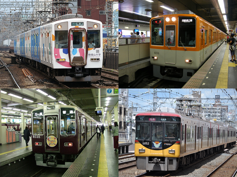 Kansai Thru Pass sample itineraries