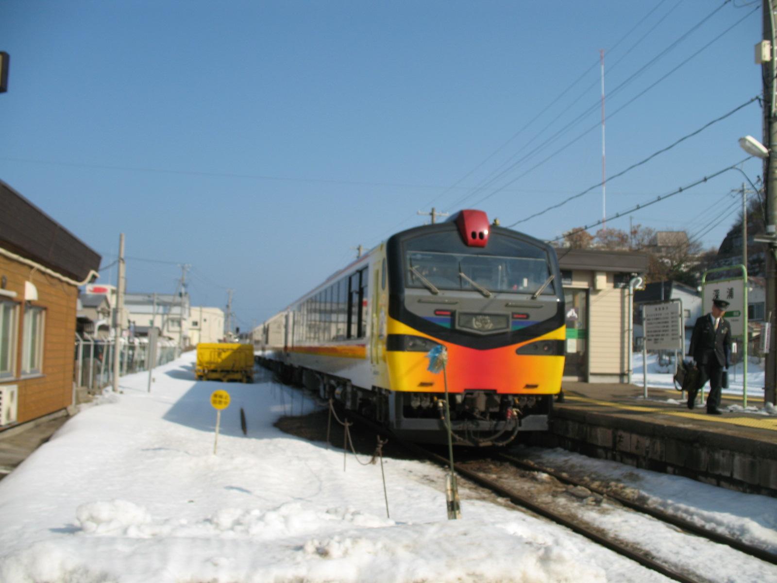 Trip to Tohoku and Nagano in 2013 winter – Part 4, from Akita to Hirosaki by Resort Shirakami