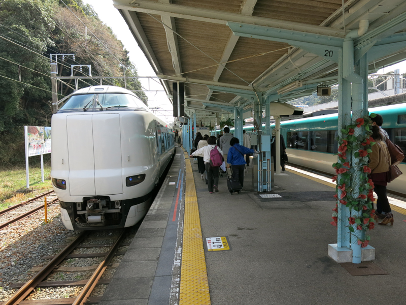 Easy trip to Nanki Shirahama from Osaka. Part 1 from Shin-Osaka to Shirahama by train