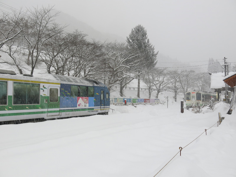 Trip to Aizu, Nikko and Hakone in 2014 winter – Part 7, staying in Yunokami Onsen