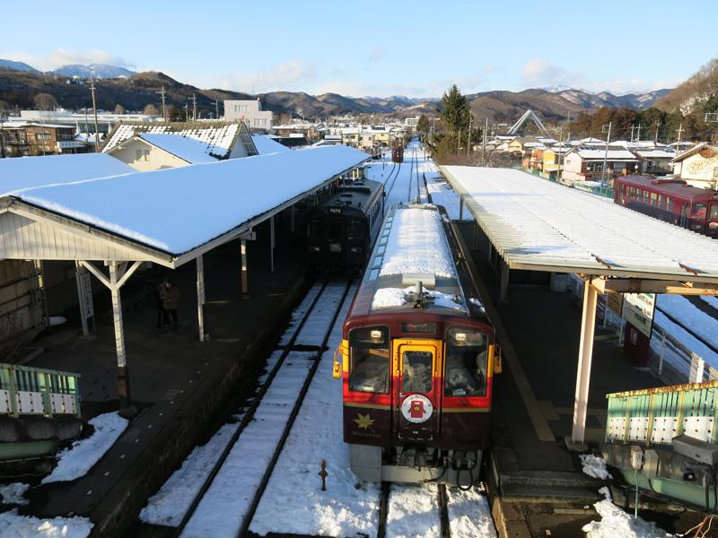 Trip to Aizu, Nikko and Hakone in 2014 winter – Part 11, Nikko to Ashio and Watarase Keikoku Railway