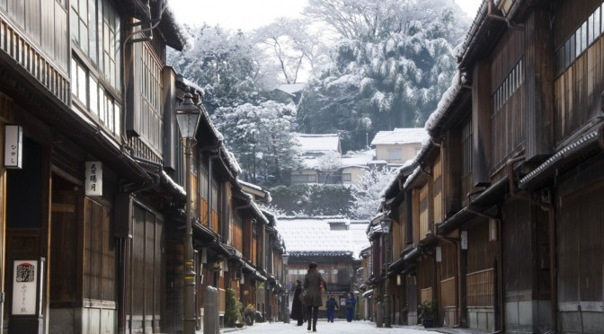 Sample itinerary of day trip to Kanazawa and Shirakawago from Tokyo