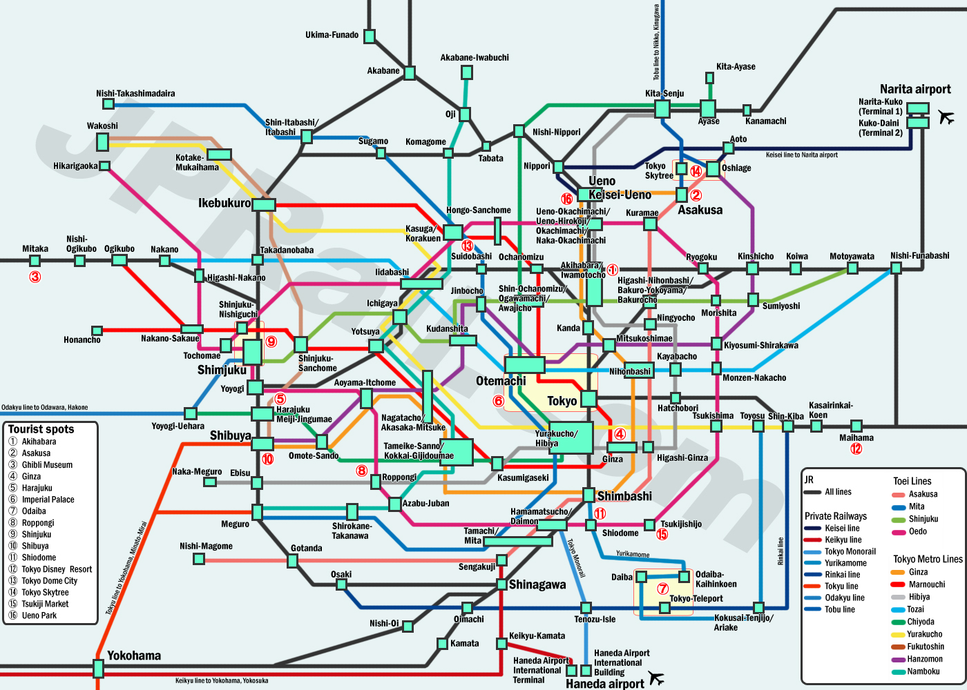 Guide To Take Trains In Tokyo How Choose The Best Deal And Japan Et Ticket Kyoto Tower Adult Click Map View Larger