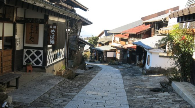 Trip to Tohoku, Chubu and Chugoku in 2016 winter – Part 4, Nagoya to Matsumoto via Magome