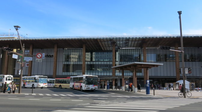 Nagano station guide. How to catch the bus to the tourist spots. How to change between Hokuriku Shinkansen and other local trains.