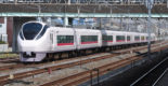 E657 series is one of the newest fleets and is used for Limited Express Hitachi and Tokiwa.